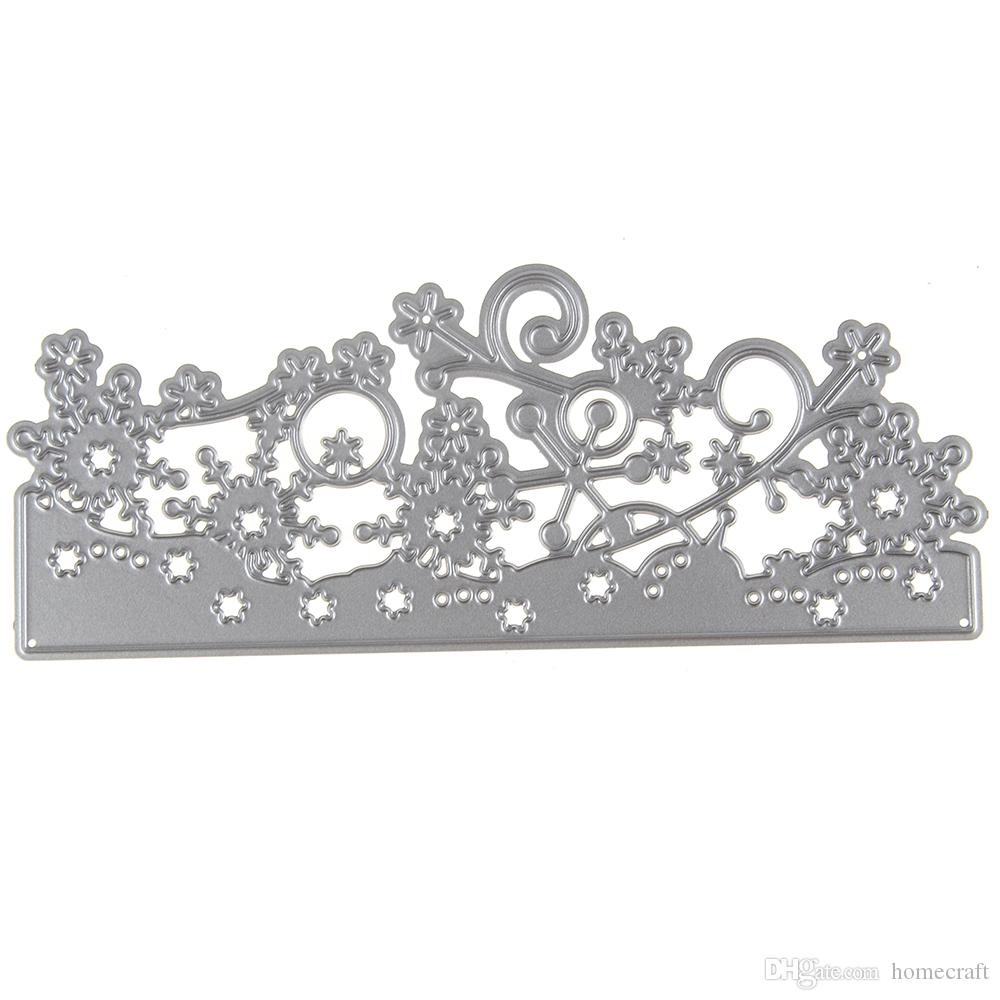 Lace Flower Metal Cutting Die Scrapbooking Embossing Stencil Card For DIY Invitation Album Book Decoration