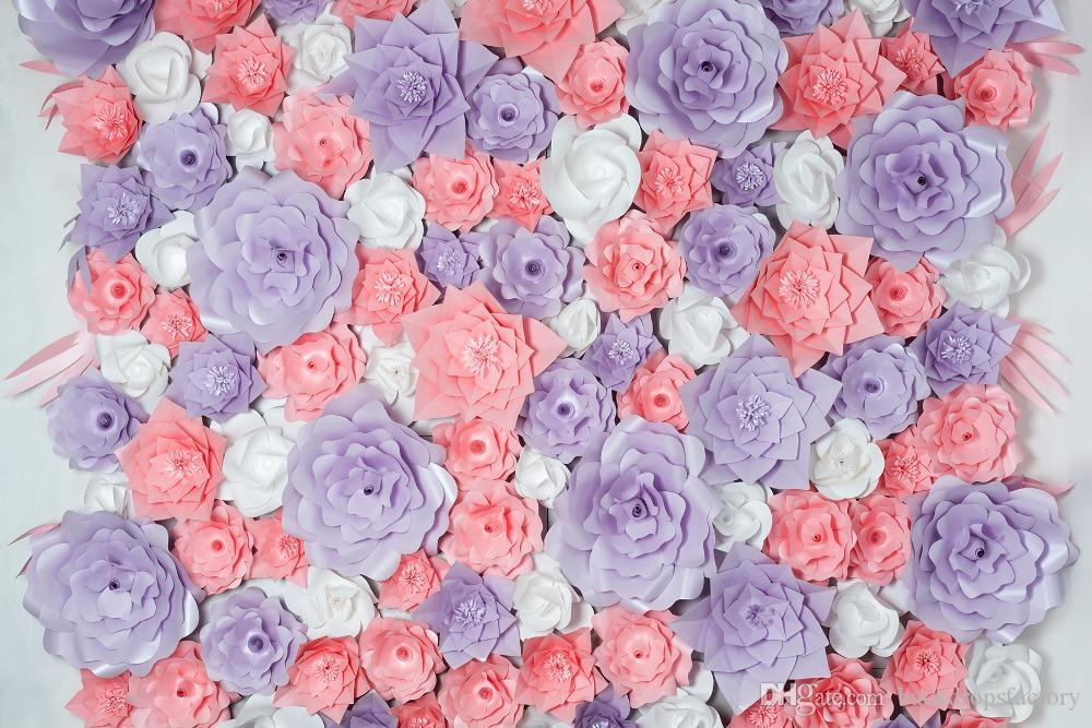 2018 digital printed 3 d floral backdrop photography white purple 2018 digital printed 3 d floral backdrop photography white purple coral flowers wall photo studio backgrounds baby newborn props wallpaper from mightylinksfo