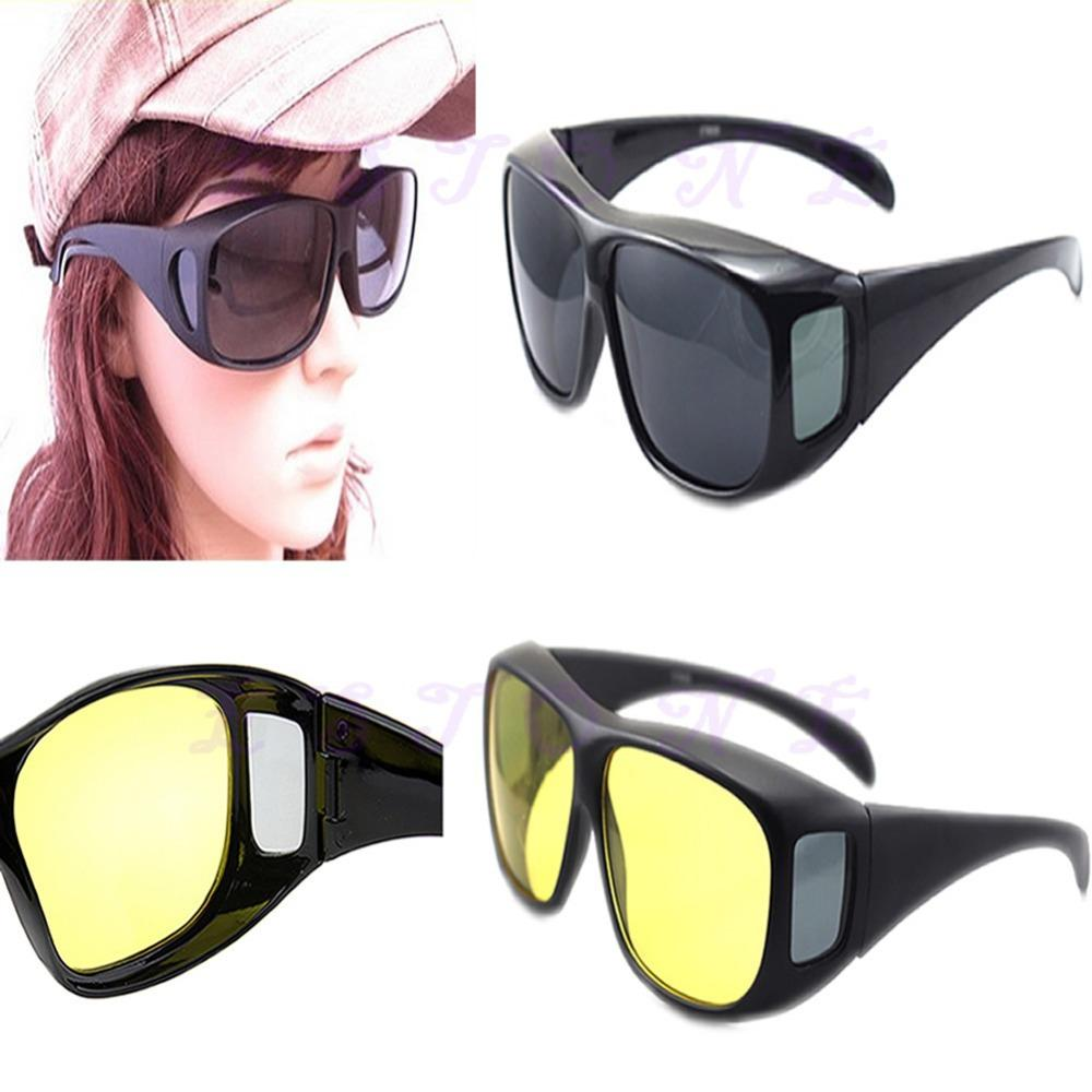 Wholesale- New Arrive Night Vision Common Lens Driver Special Isolation Antiglare Polarization Glasses