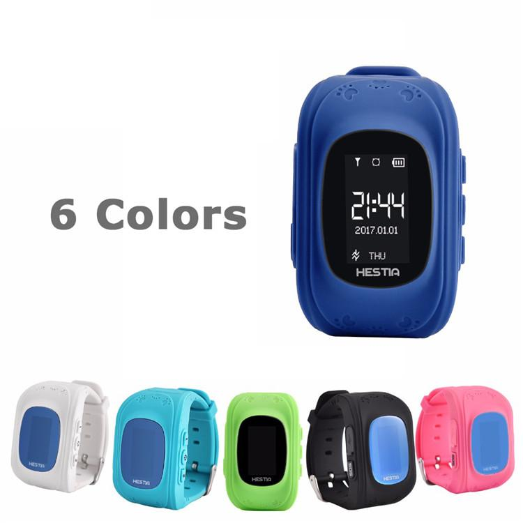 Q50 Niños GPS Rastreador Niños Reloj Inteligente Teléfono SIM Cuatribanda GSM Seguro SOS Llamada PK Q80 Q90 Smartwatch Para Android IOS
