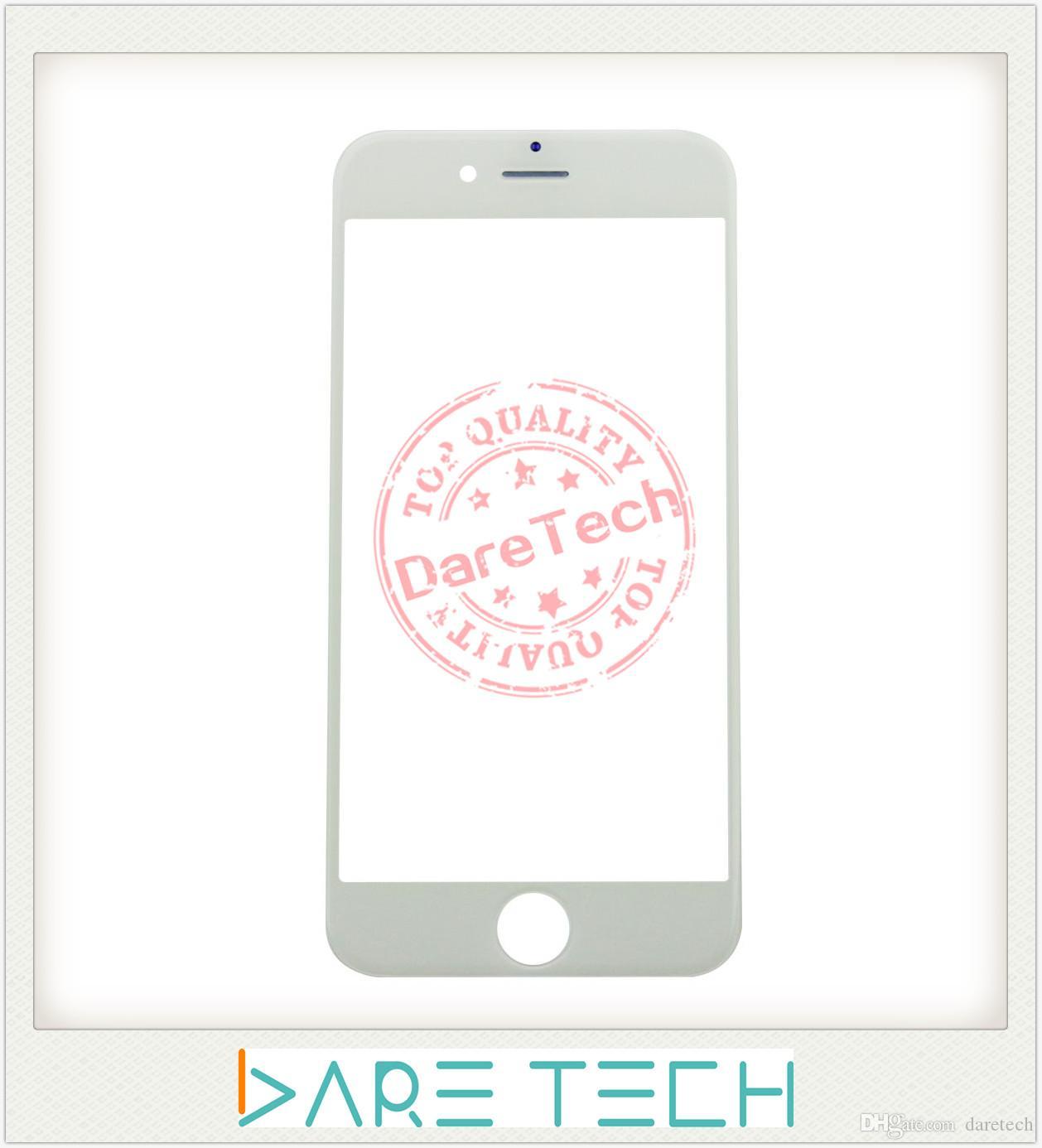 Avant Écran Tactile Externe Lentille En Verre De Remplacement Pour iPhone 6/6 Plus 6 S / 6 S Plus 7/7 Plus Livraison DHL mix Couleur