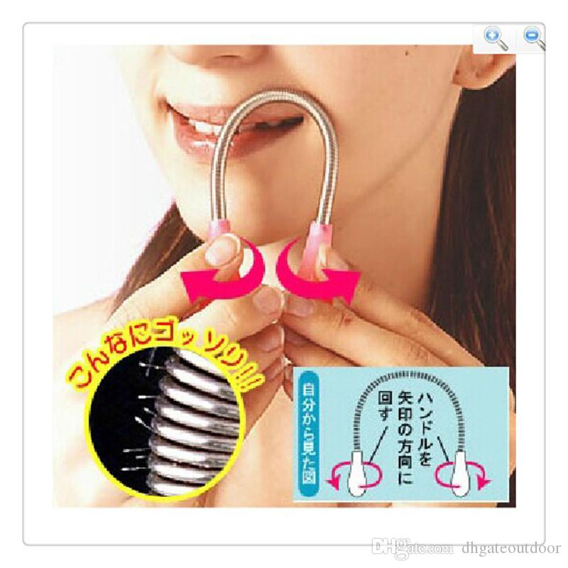 Wholesale Face Hair Remover Daily Use Facial Hair Remover Removal Stick Threading Epistick Epilator Spring Beauty Tools