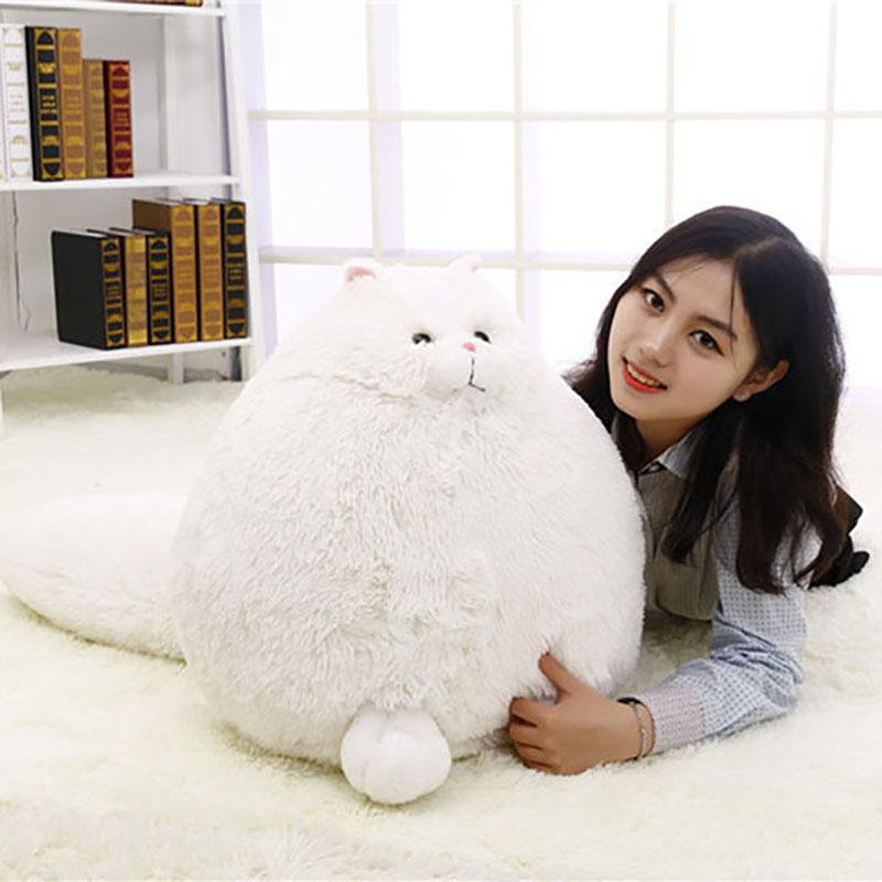 Fat Pet Cats Persian Cat Toys Pembroke Pillow Plush Toys Soft Stuffed Animal Peluches Dolls Baby Kids Gifts Brinquedos