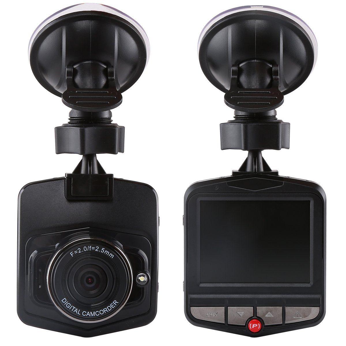 2.4 Inch Novatek Dashcam Car DVR PZ911 IR lights Support WDR G-Sensor Parking Monitoring Detection One Key Lock Cycle Recording
