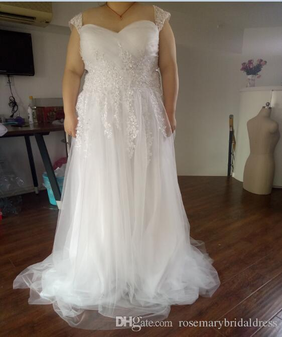 Plus size wedding dresses with sleeves cheap tickets