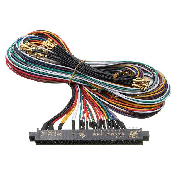 compre 28pin arcade m quina jamma wiring harness multicade arcade rh es dhgate com