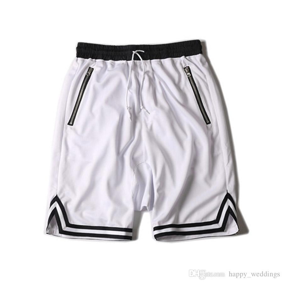 hip hop hipster sport gym brand-clothing Justin Bieber FOG loose pants KANYE WEST OVERSIZE stripe shorts black green red white