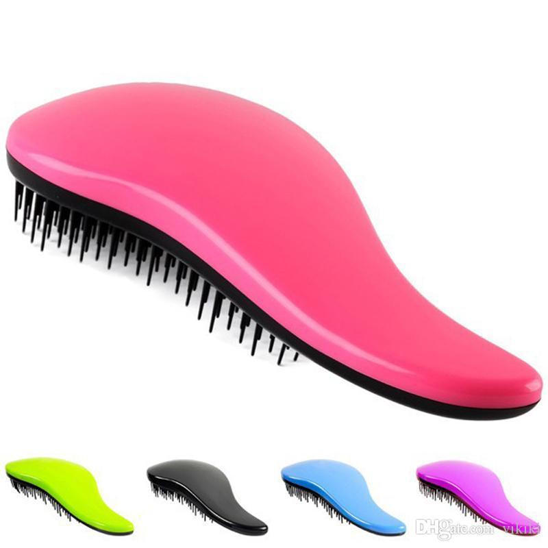 Peine del pelo que labra el cuidado del pelo del peine del masajeador de la ducha Desenreda la brocha del cepillo del pelo del pelo que labra la herramienta del estilo