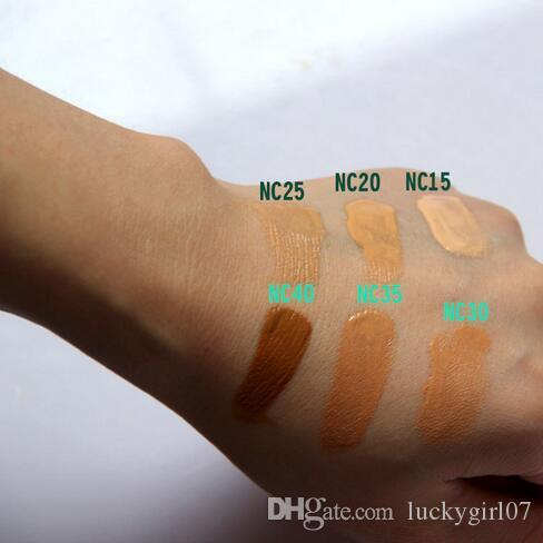 Hot Mineralize Moisture Foundation Liquid SPF15 Makeup Base De Maquillaje 30ML NC15-NC40 DHL حررت سفينة ضد وجه مسحوق حار بيع