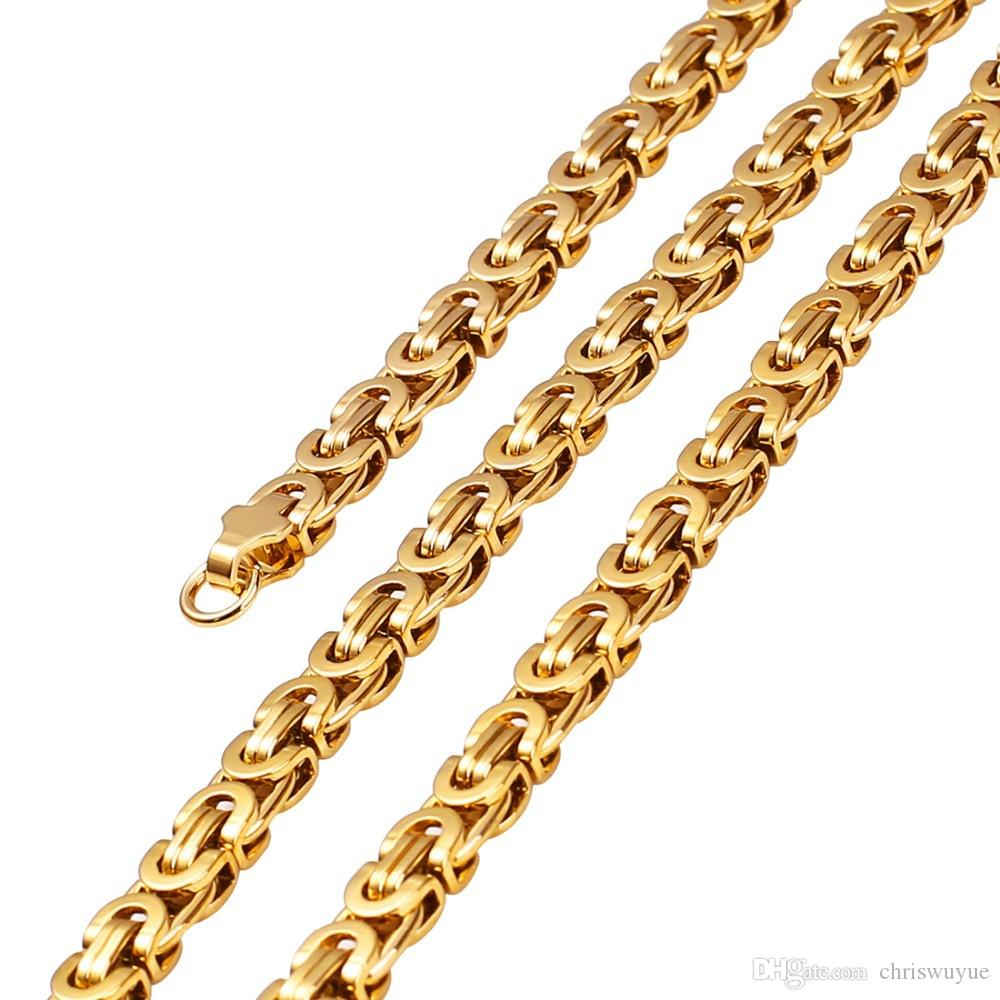 Мода Подарок Большой и Тяжелый Позолоченный Иисус Крест Ожерелье Мода мужчины Ювелирные Изделия Из Нержавеющей Стали Распятие Ожерелье NP30