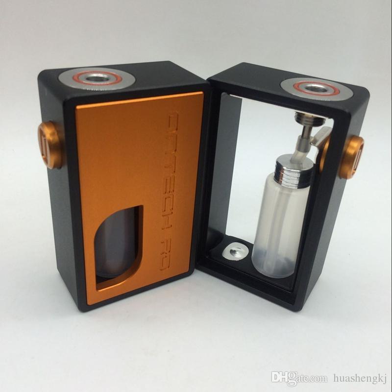Newest Ontech rd bf box Clone Resin bottom feeder box mod Metal AL icarus bf box Mod High quality Hot sale DHL free