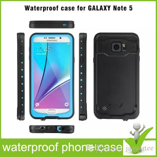100pcs Redpepper Waterproof Case Water/Shock/Dirt/Snow Proof phone cover For Samsung Galaxy Note5 Wholesale