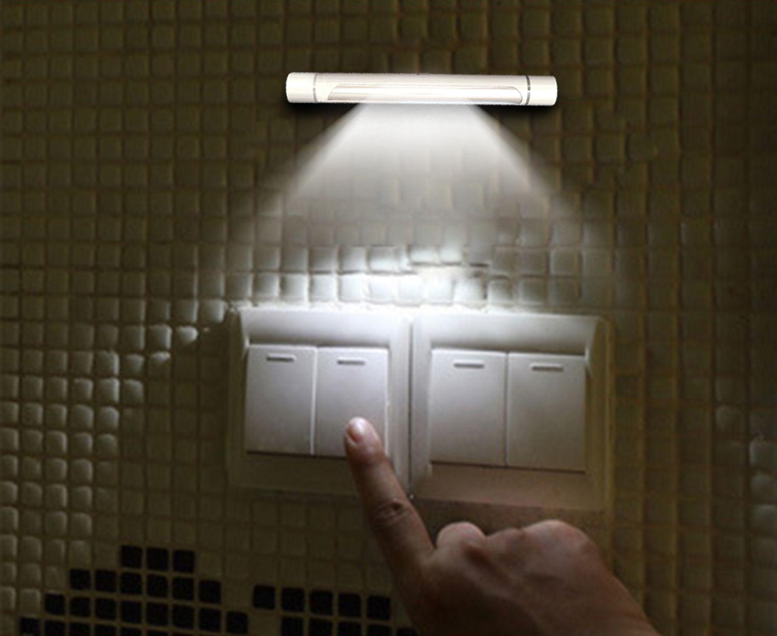 Best New Led Human Motion Activated Pir Light Sensor Bathroom Toilet ...