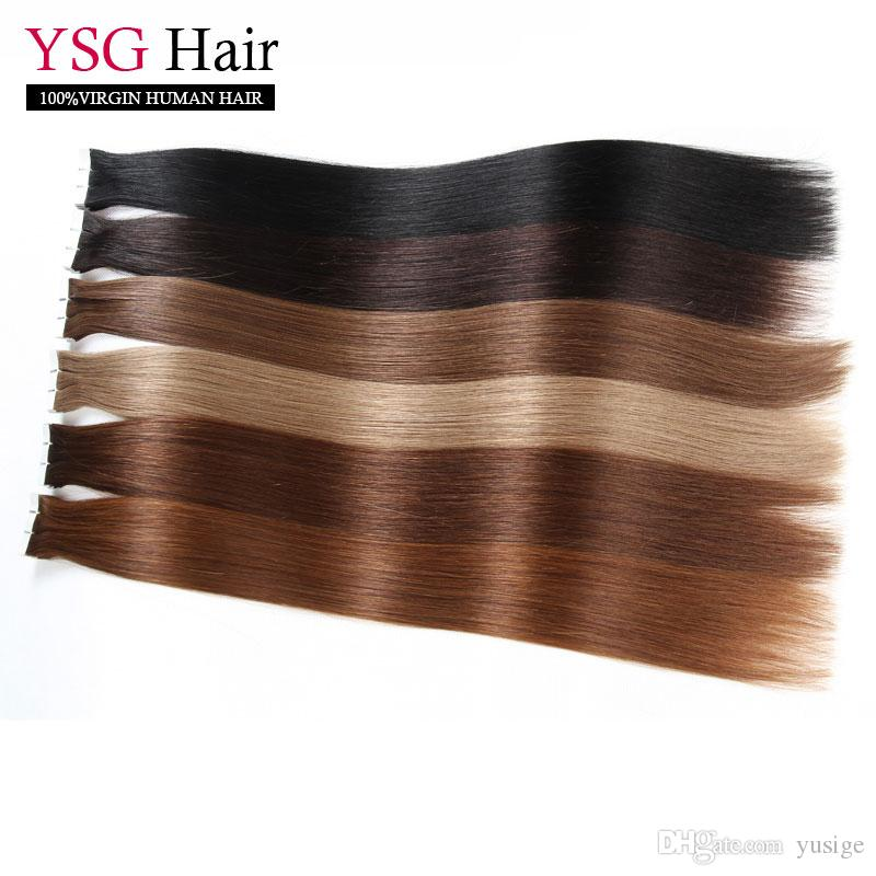Wholesale Factory Price Pu Skin Weft Tape In Hair Extensions 2gpcs