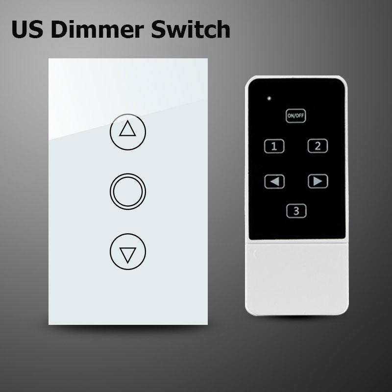 c6feab495b00 Wholesale Smart Home Broadlink Control Dimmer Switch,US Wireless Remote  Control Touch Screen Switch,Wall Light Dimmer For Smart Home Best Home  Automation ...