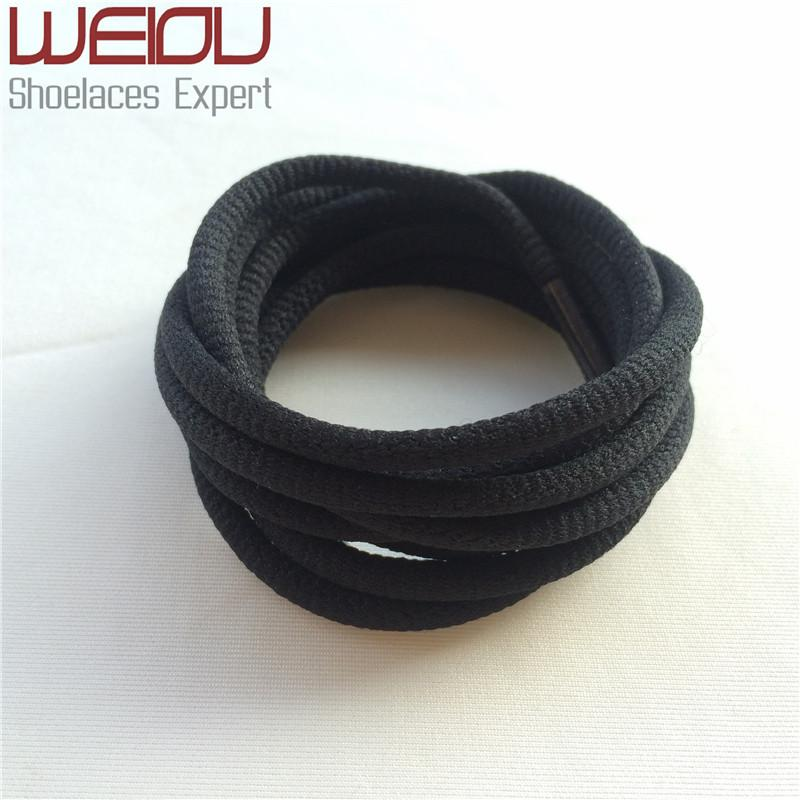 Weiou Round Rope Shoe Laces Polyester Groove Shoelaces Runner Shoestrings Sport Bootlace For Sneakers Boots Rope Lacing