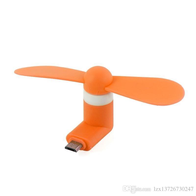 ميني كول مايكرو يو إس بي مروحة الهاتف المحمول USB أداة مراوح تستر لنوع ج I5 سامسونج S7 حافة s8 زائد