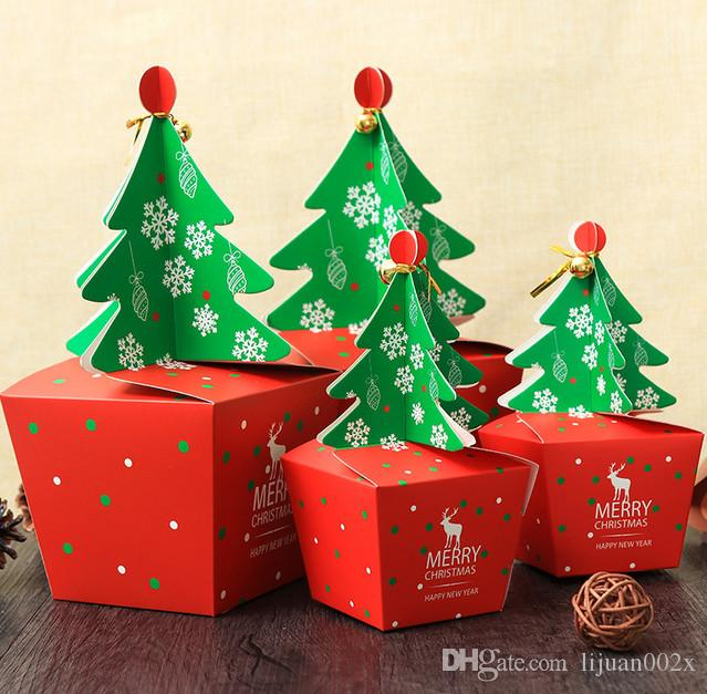 New christmas boxes theme candy box d