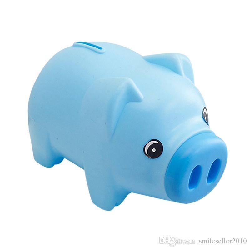 2eaaff3fd Newly Children Pig Piggy Bank Cartoon Coins Cash Save Box Piggy Bank ...