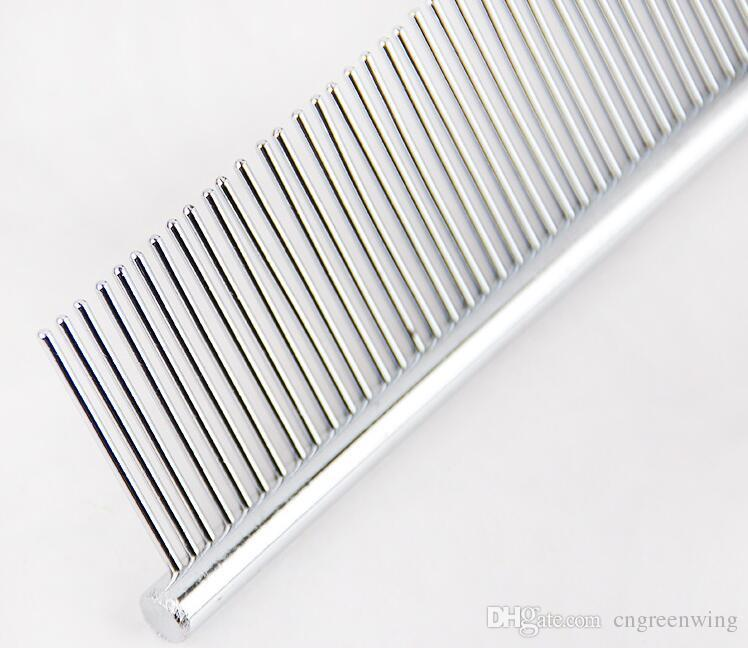 Pet Comb Asymmetric Hot Sell Steel Pet Hair Trimmer Comb Dog Cat Cleaning Brush