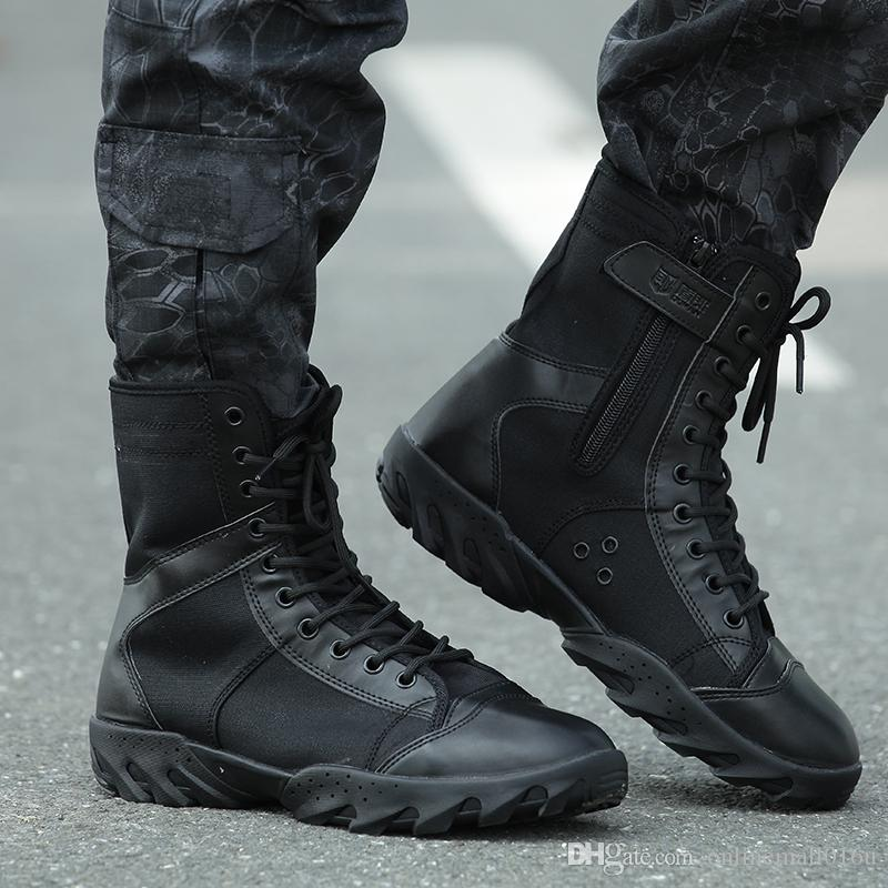 Tactical Men S Desert Camouflage Military Tactical Boots