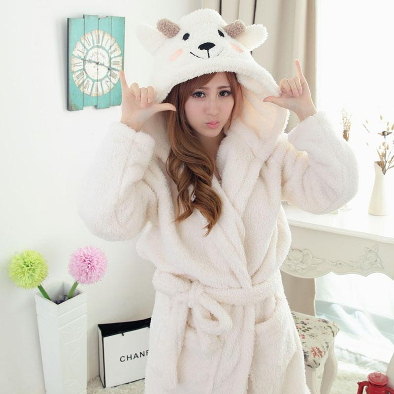 2019 Wholesale Super Soft Flannel Hooded Bathrobe Women Men Bath Robes  Nightgown Cute Floral Cow Leopard Zebra Spring Robe Plus Size XXL From  Yukime e84b5eee7