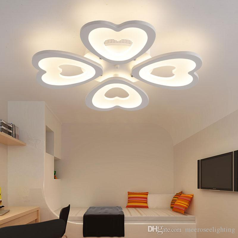 Modern led ceiling lights for living room bedroom ceiling lamp modern led ceiling lights for living room bedroom ceiling lamp acrylic heart shape led ceiling lighting home decor bar pendant lights green pendant light aloadofball Choice Image