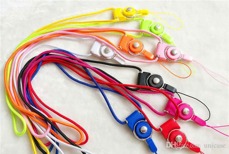 Lanyard Hanging Charms Security Badge Chain For Cell Phone MP3/4 Flash Drives ID Card Camera ID Card DHL Shipping