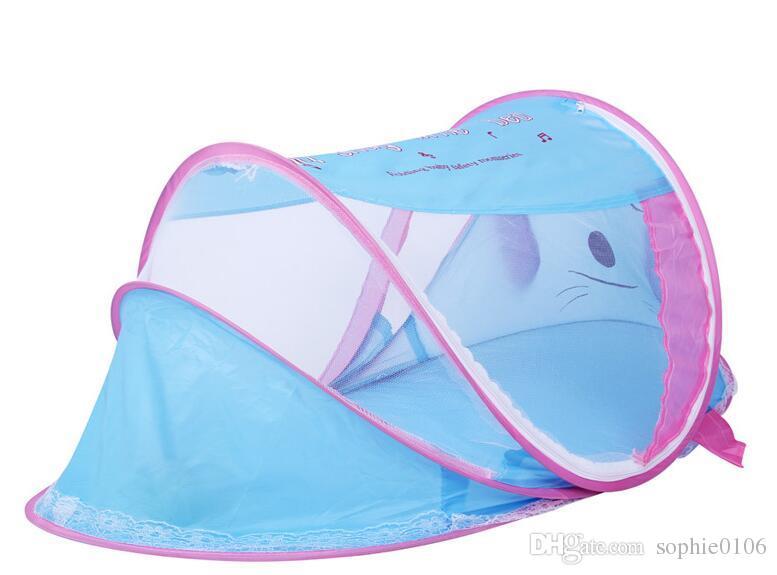 Été Enfants Bébé Portable Moustiquaire Bébé Lit Pliant Mosquito Filet Accessoires Lit Bébé Lit Net Chien Style BP 001