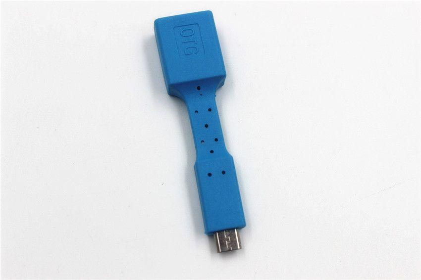 USB Micro OTG Type-C UCB OTG Adaptateur Micro Type-C pour table de téléphone portable Connectez-vous à U Flash Souris Clavier DHL
