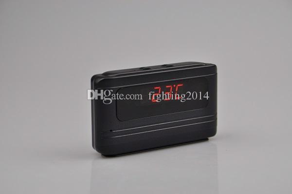 HD 720P Table Clock camera remote control motion Detection digital alarm clock DVR pinhole camera audio video recorder home security Cam
