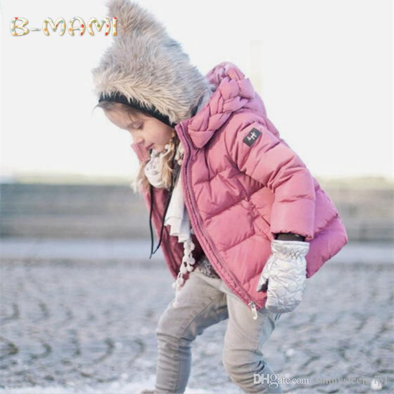 new styles 920e3 2b2dd Giubbotto invernale per bambina Giubbotto bambino Bambina Giubbotto Parka  Giubbotto infantile con cappuccio Giubbotto per bambini Giubbotto invernale  ...