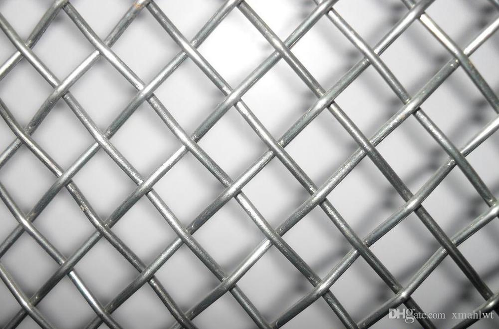 2018 Factory Galvanized Stainless Steel 304 316 Crimped Wire Mesh ...