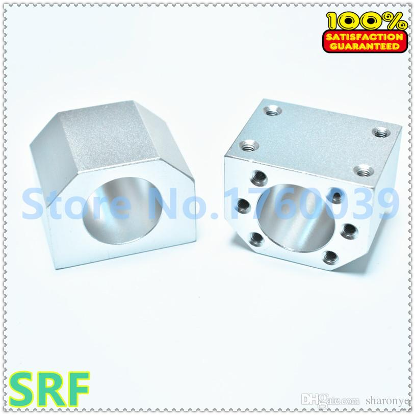 Hohe qualität 3 stücke SFU1605 SFU1610 Kugelumlaufmutter Gehäuse DSG16H Aluminium Halterung Für CNC Kugelumlaufspindel