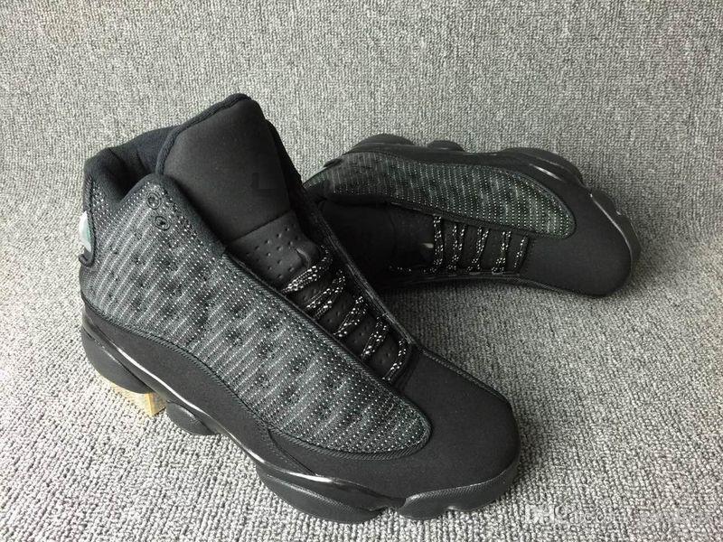 Sneakers 13 GS XIII Antracite Preto PRETO Com Caixa de Melhor Qualidade Atacado Sapatos de Basquete Homens
