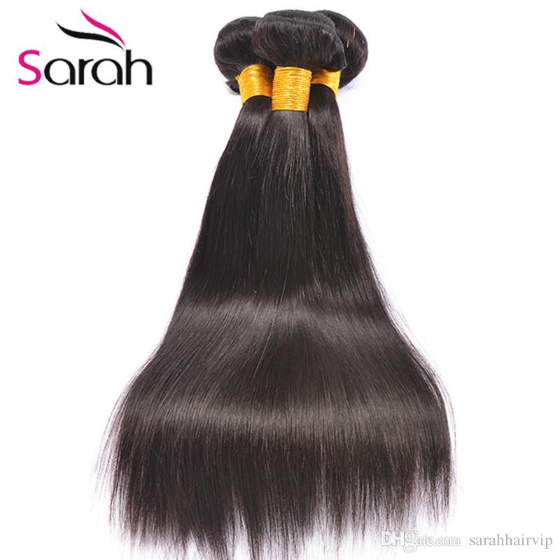 Filipino Hair Straight Virgin Human Hair Weaves 100% Unprocessed Brazilian Peruvian Malaysian Indain Filipino Straight Hair Wefts