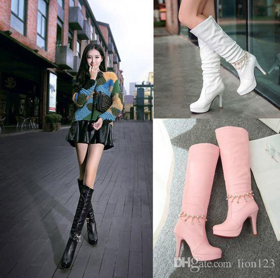 nude boots Sexy women