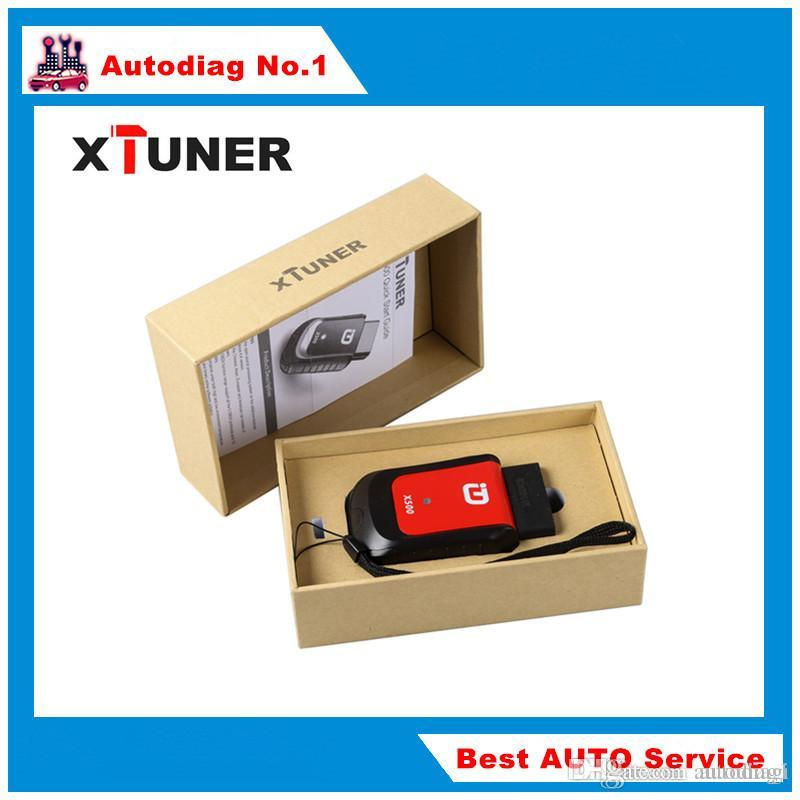 XTUNER X500 Bluetooth Support OBDII Diagnosis Oil Reset DPF Battery ABS EPB  TPMS IMMO Function Diagnostic Tool works with Android Phone