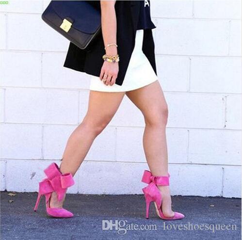 2017 verano sandalias de arco delgado zapatos de tacón alto de cuero suave mujer sexy tobillo mariposa Sandalias holgazanes zapatos mujeres