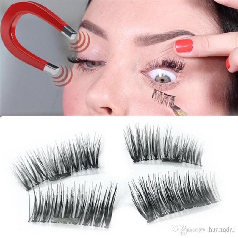 829115b37e9 Magnetic Eye Lashes 3D Mink Reusable False Magnet Eyelashes Extension 3d  Eyelash Extensions Magnetic Eyelashes Makeup =1box=Eyelash Conditioner  Eyelash Dye ...