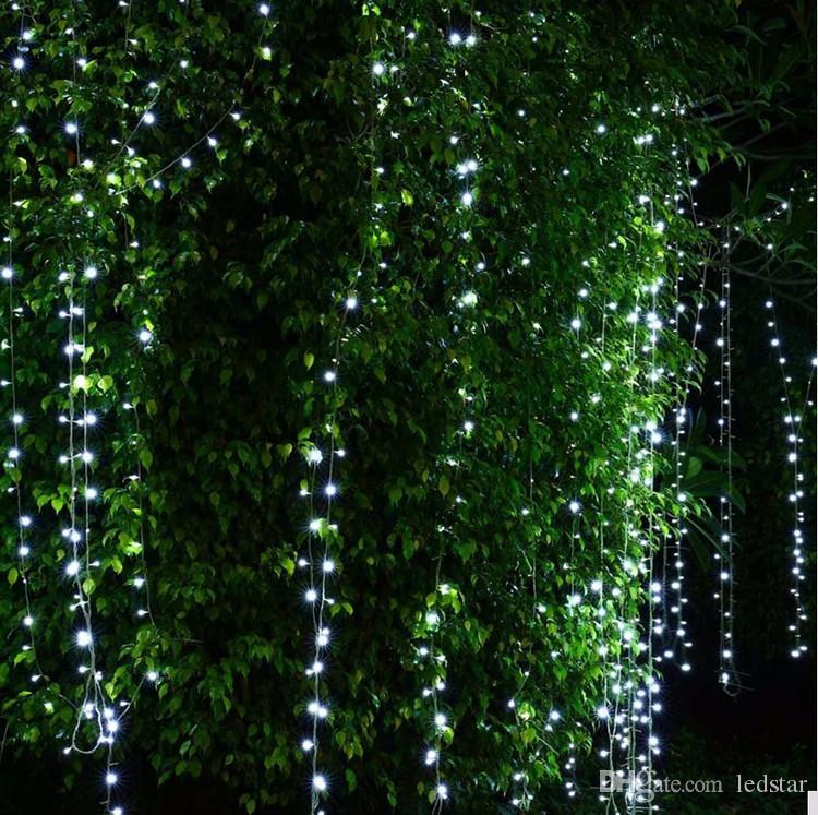 1600 LED 조명 10 * 5 메터 커튼 조명, led 조명 문자열 플래시 요정 축제 파티 빛 크리스마스 웨딩 장식