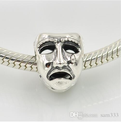 mask pandora charm