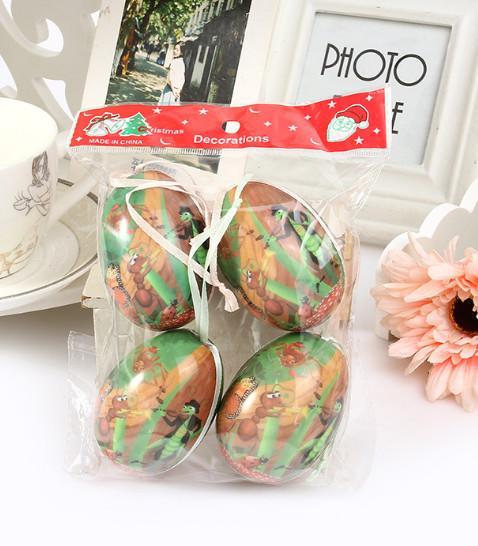 2017, la última fiesta de Pascua puede usar huevos de plástico elípticos, dibujos animados, huevos de bricolaje, una variedad de patrones / envío gratis