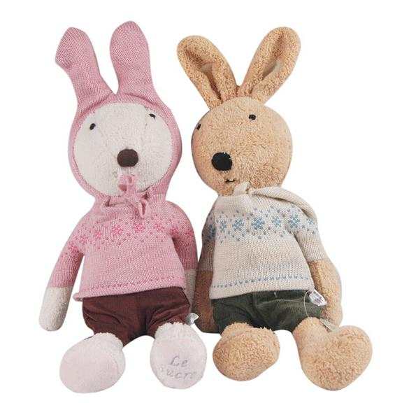 Wholesale 30cm 2015 New Sweater Style Le Sucre Stuffed Plush Toys