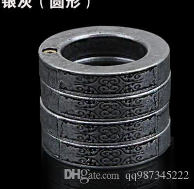 2018 fashion Knuckle duster belt buckle F-S THICK CHROMED KIRSITE BRASS KNUCKLES DUSTERS Boxing Protective Gear punch button