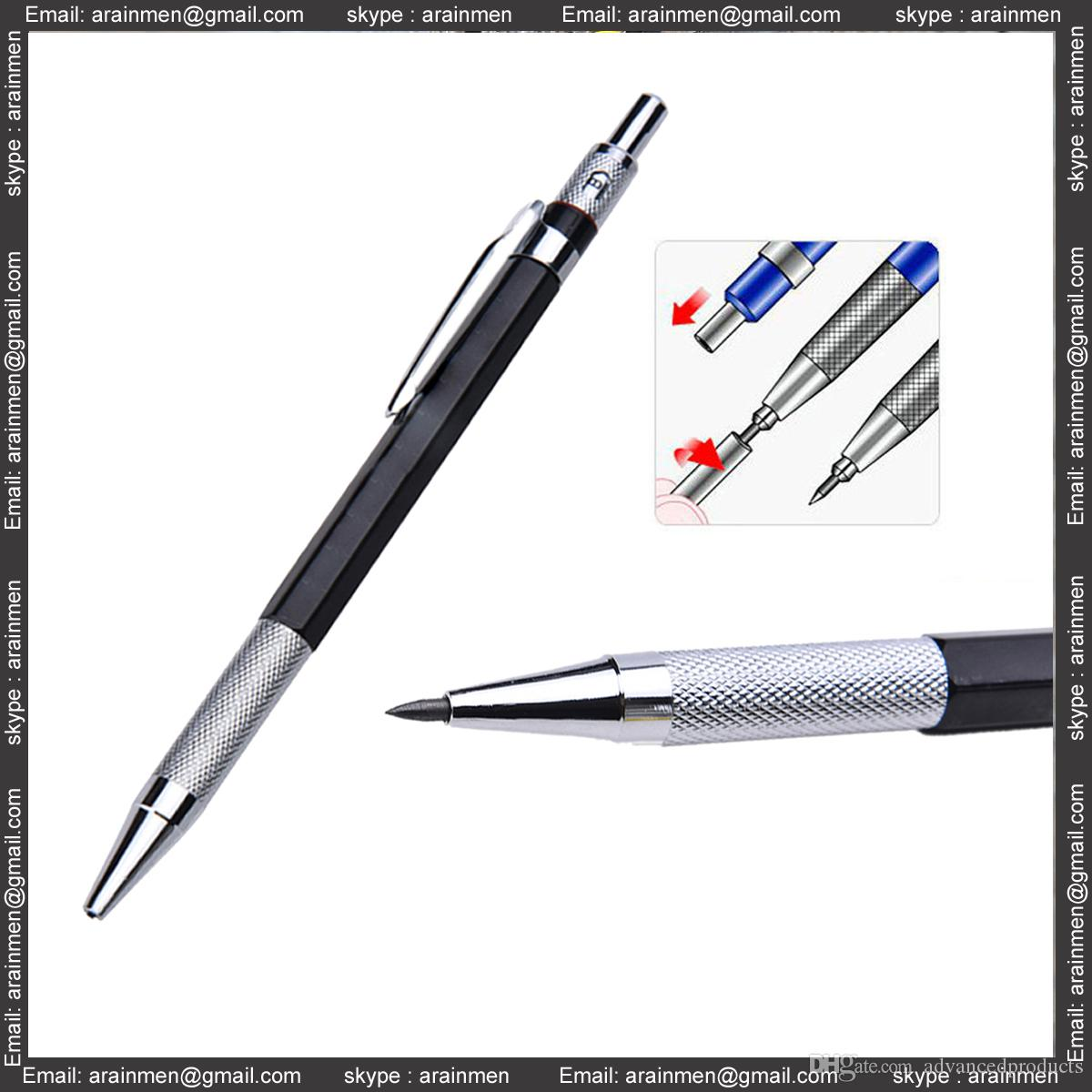 2019 propelling pencil for sketching school office stationery supplies 2mm lead holder automatic draughting mechanical drafting pencil from advancedproducts