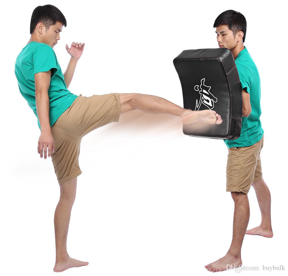 دائم بو الجلود التايكواندو MMA الملاكمة الركل اللكم الوسادة TKD التدريب والعتاد ساندا / القتال / الهدف الملاكمة التايلاندية القدم