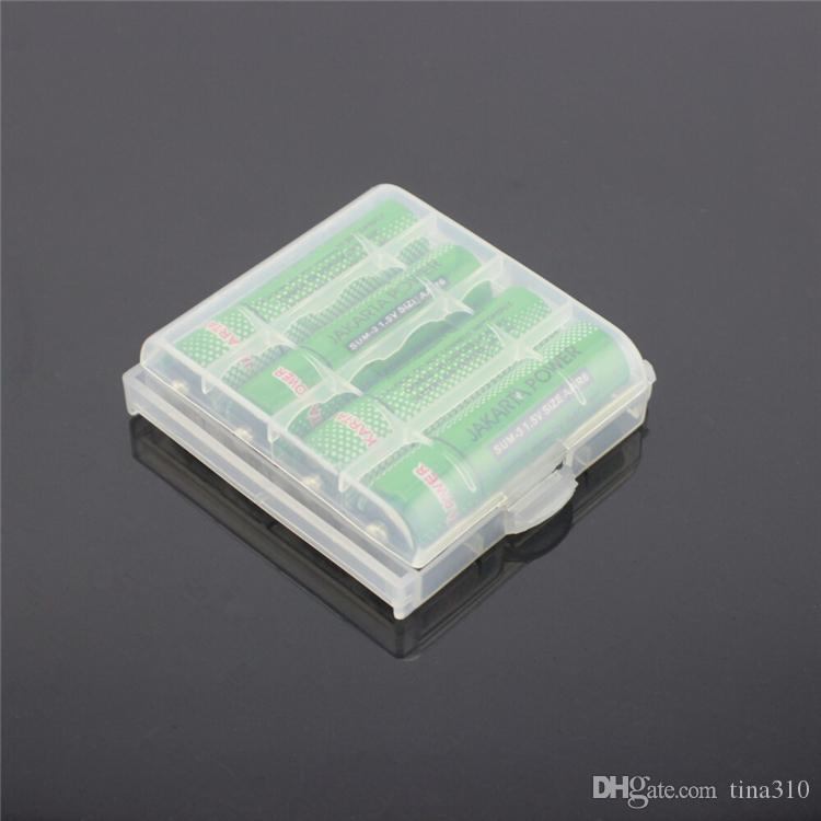 New Fashion Plastic box Battery Box Storage Case Battery Holder Container Colorful For Battery DHL IB001