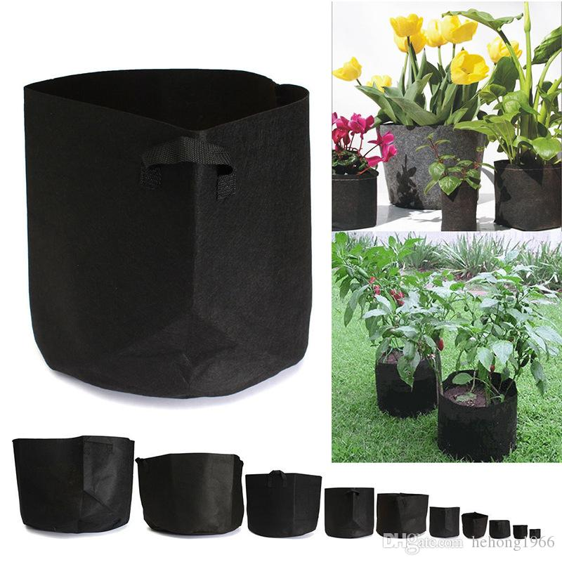 2019 Non Woven Grow Bag Plants Fabric Pots Plant Pouch