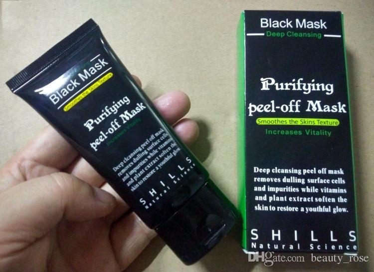 Siyah nokta sökücüler kollajen yüz maskesi Siyah maske Emme 50 ml SHILLS Derin Temizleyici arındırıcı peel off Siyah yüz maskesi Peel Maskeleri Epacket